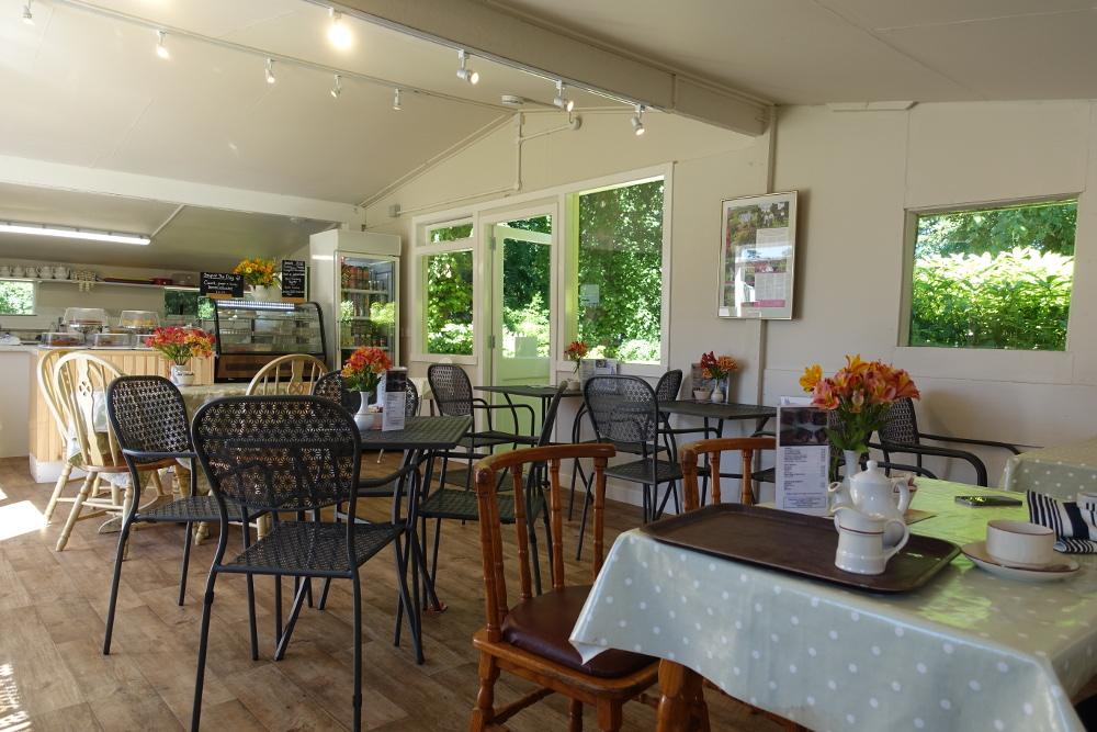 Tea Room inside