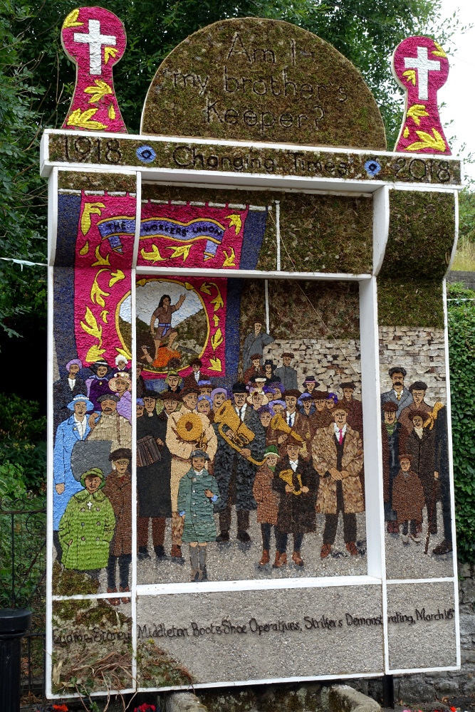 Stoney Middleton Well dressing