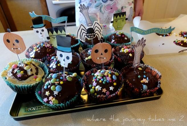Horror cupcakes