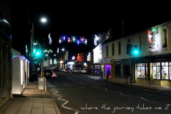 Newton Stewart Christmas Lights