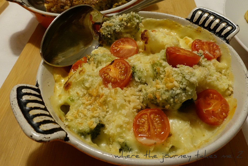 Cauliflower Cheese bake